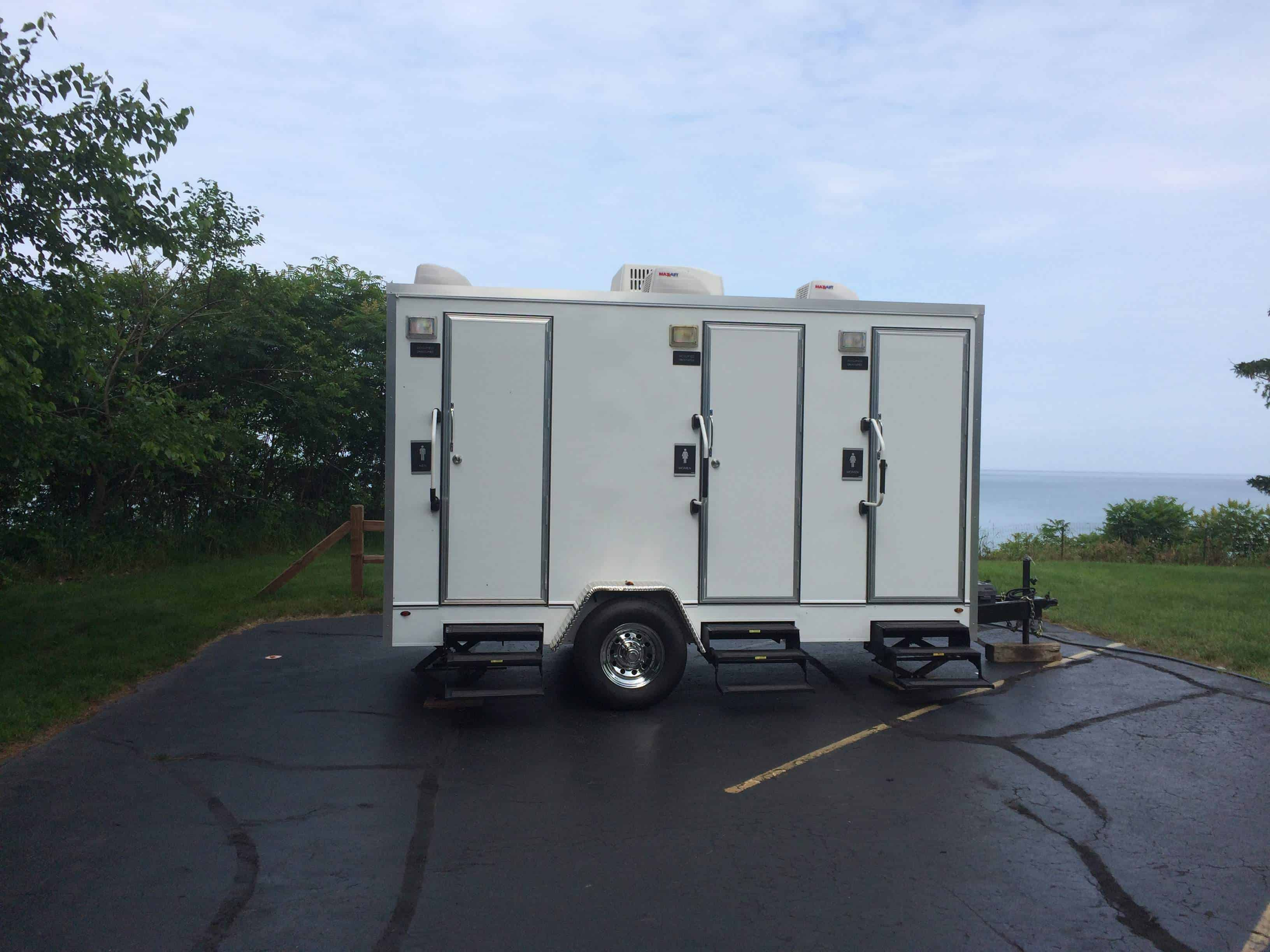 ada portable global ams restroom trailers handicapped trailerams omega bathroom