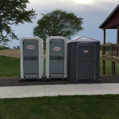 Portable Toilets Standalone plus wheelchair accessible
