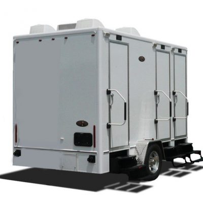 midsized restroom trailers