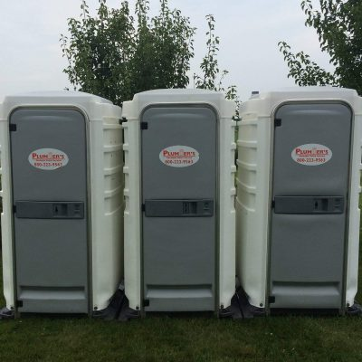 stand alone porta potty
